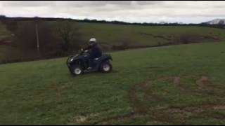 Electric Quad Bike Fun in the Mud
