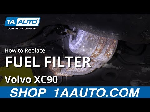How to Replace Fuel Filter 03-12 Volvo XC90