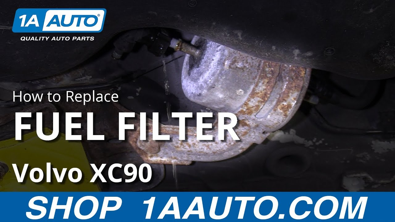 How to Replace Fuel Filter 03-12 Volvo XC90 - YouTube | Volvo Fuel Filter 2003 |  | YouTube