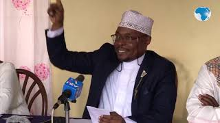 Kenya Muslim National Advisory Council Gives Moha 48 Hours To Retract His Statement Against Uhuru