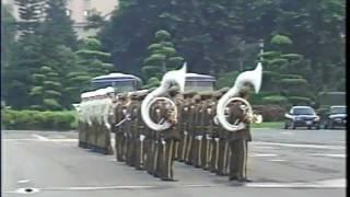 憲兵軍樂隊總統府升降旗