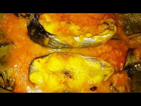 Pepes (Brengkes) Tempoyak Ikan Patin Lezat dan Nikmat