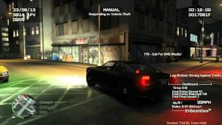 GTA IV Police Pursuit Mod V7.6d gameplay w/ FIBBuffalo
