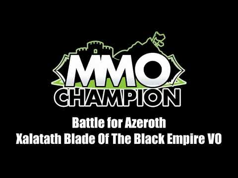 Patch 8.1.5 VO - Xalatath Blade of the Black Empire