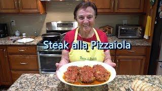Italian Grandma Makes Steak alla Pizzaiola