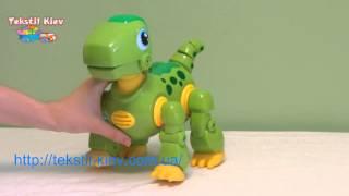 Интерактивный Динозаврик(Детская интерактивная игрушка Динозаврик не оставит равнодушным вашего ребенка. Он умеет ходить, бегать,..., 2015-02-16T21:10:24.000Z)