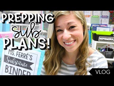 7 Days of Sub Plans | That Teacher Life Ep 54