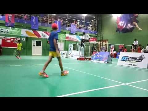 Love State badminton championship Indore 17Apr2017