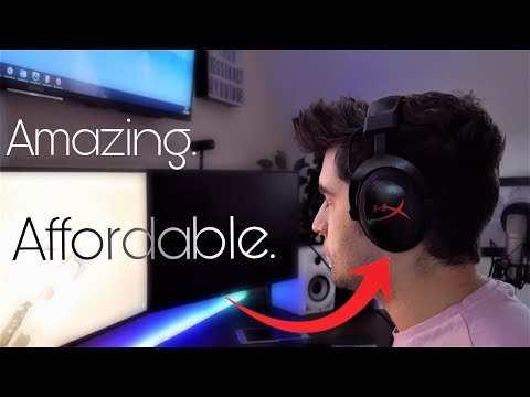 $50 Gaming Headset! - HyperX Cloud Core Review + Mic Test!