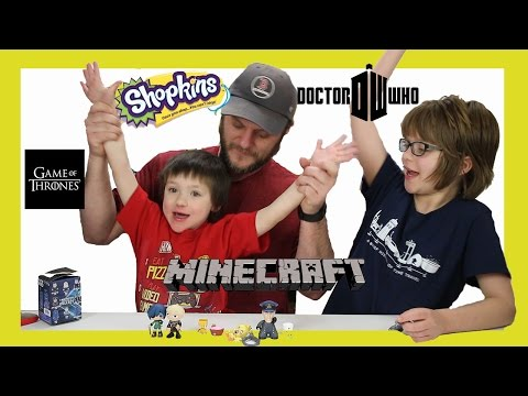 Opening Surprise Blinds (Minion Vlog) Will Cooper Get a Exclusive Pie?  Day 964 | ActOutGames