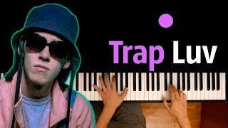 Big Baby Tape - Trap Luv ● караоке   PIANO KARAOKE ● ᴴᴰ + НОТЫ & MIDI