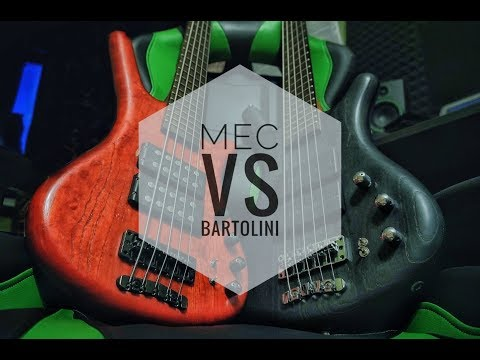 MEC VS BARTOLINI | Warwick Corvette basses