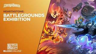 BlizzConline 2021 - Hearthstone: Battlegrounds Exhibition