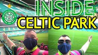 INSIDE celtic park   return to PARADISE stadium tour vlog 2021