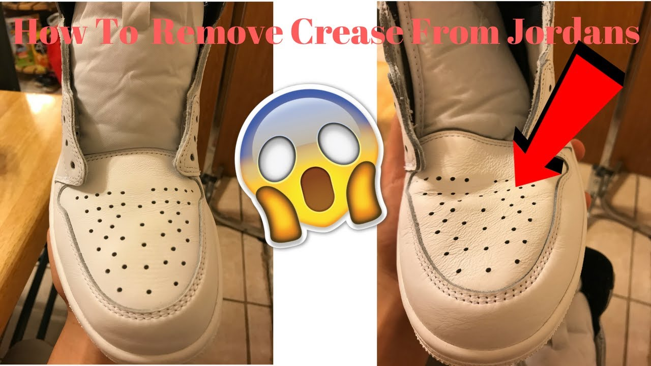 How To Remove Creases On Shoes (Steamer
