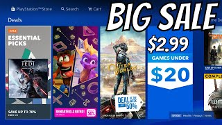 Big PS4 SALE Triple A Game is …