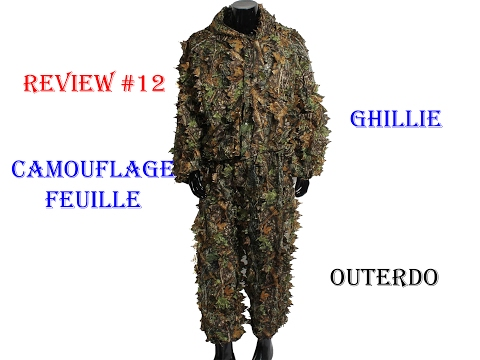 online for sale big sale exclusive range Ghillie Camouflage Feuille OUTERDO REVIEW #12 [Airsoft FR ...