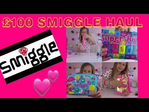 £100 SMIGGLE HAUL | SLIME & SCHOOL SUPPLIES