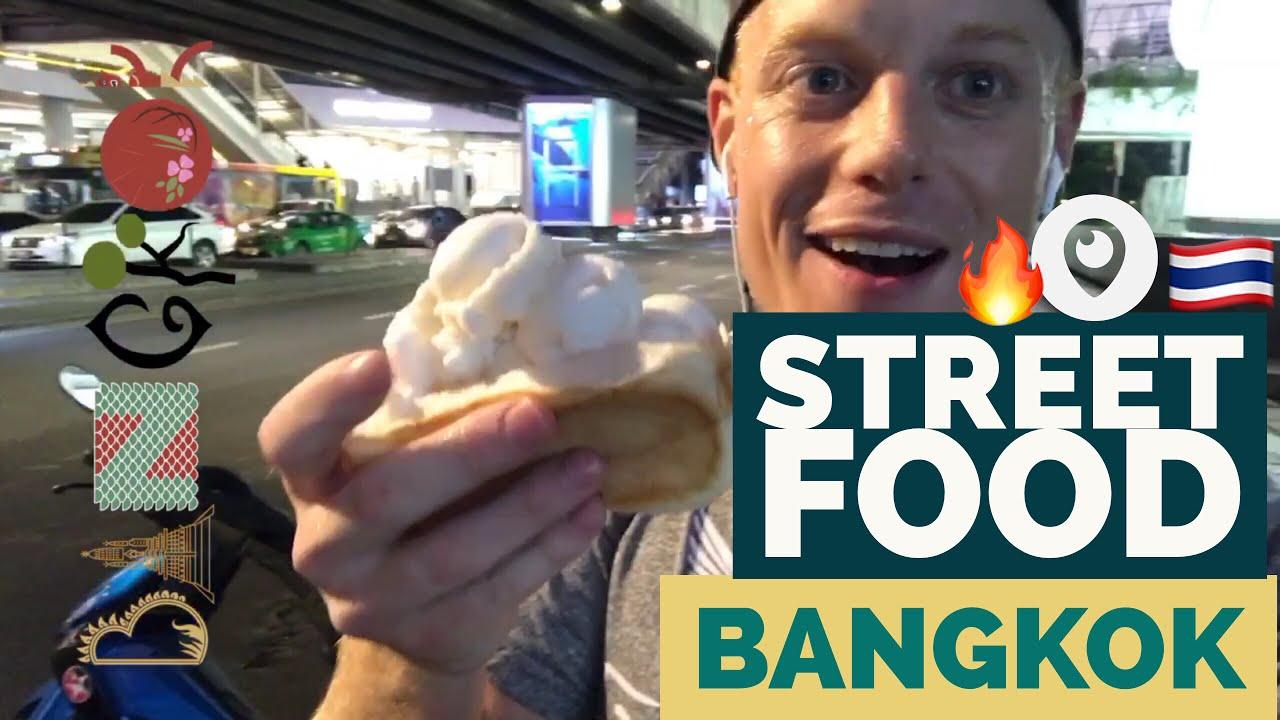 ?BANGKOK Street Food Experience LIVE ??? BTS Station Downtown Tour | Thailand Travel 2017