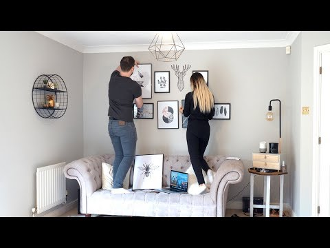 DECORATING OUR LIVING ROOM! VLOG 13