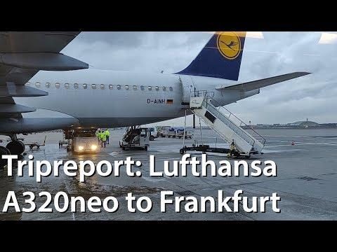 Tripreport | Lufthansa A320neo Copenhagen To Frankfurt | Economy