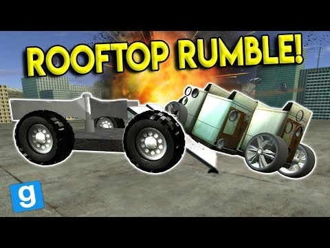 RC SUMO BATTLE CHALLENGE! - Garrys Mod Gameplay - Gmod Sandbox RC Build Challenge