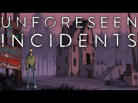UNFORESEEN INCIDENTS   Hand Drawn Adventure Game   Unforeseen Incidents Gameplay!