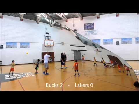 Pan Pacific Park Basketball Bucks vs Lakers 08/01/15