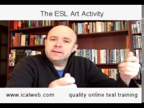 The ESL Art Activity