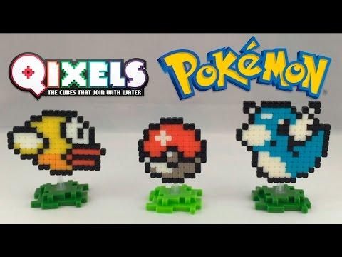 Qixels Pixel Art Pokemon Dratini Poke Ball Flappy Bird Time