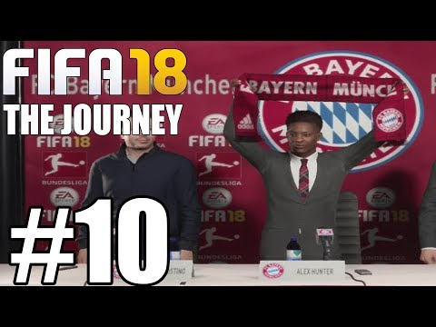 FIFA 18 THE JOURNEY Gameplay Walkthrough Part 10 - Move to Bayern ( Full Game ) - No Commentary
