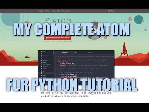 how to run a program on atom
