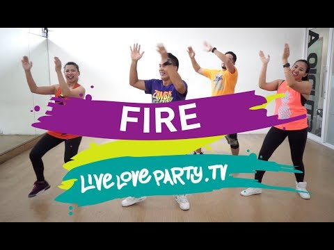 Fire | Live Love Party | Zumba | Dance Fitness thumbnail