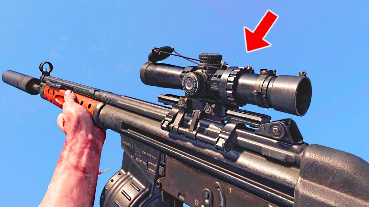 This scope reduces your recoil by 50% apparently
