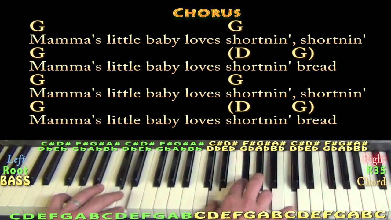 Shortnin bread piano cover lesson with chordslyrics youtube shortnin bread piano cover lesson with chordslyrics hexwebz Gallery