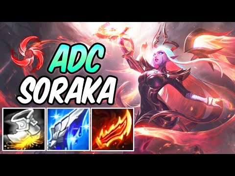 MANAMUNE ADC SORAKA NIGHTBRINGER | Soraka ADC Gameplay | New Build & Runes | League of Legends