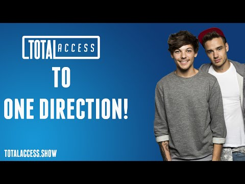 One Direction on Total Access - Bieber's beef!