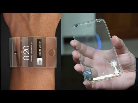 Apple Smart iWatch Rumors (What it Could Look Like) & Transparent Smartphones!