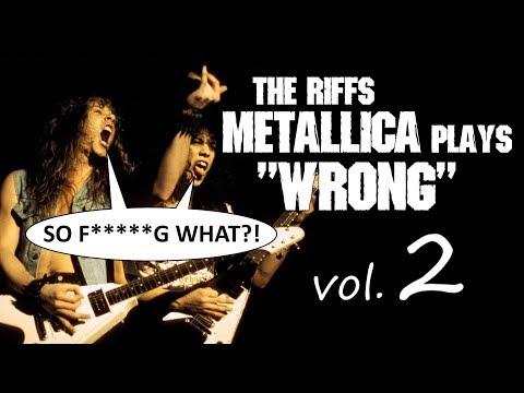 7 riffs Metallica plays