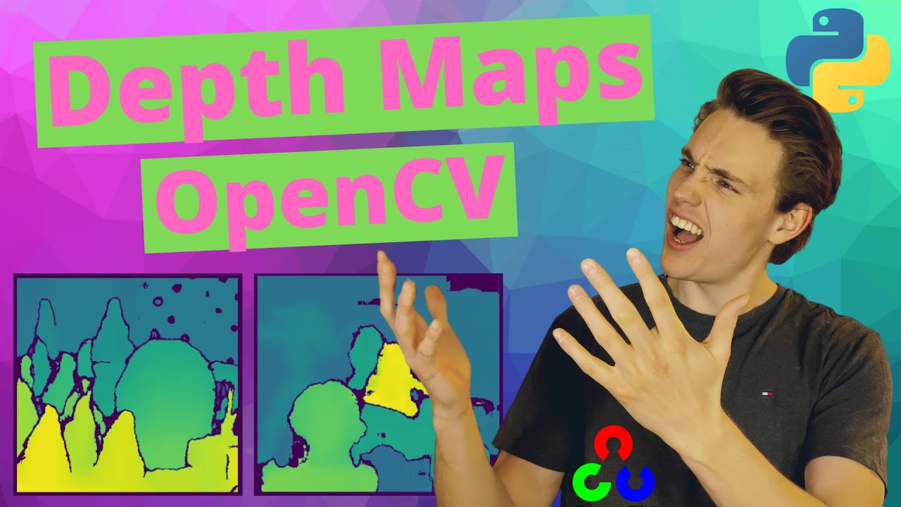 Depth Maps in OpenCV Python - Stereo Vision with Code and Examples