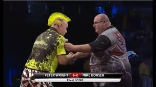 2018 Melbourne Darts Masters Round 1 Wright vs Bonser