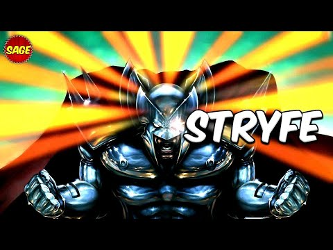 Who is Marvel's Stryfe? More Powerful, Evil Clone of Cable.
