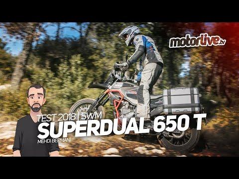 SWM SUPERDUAL 650 T   TEST 2018