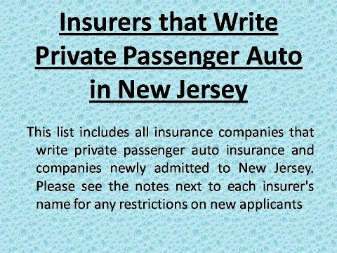 NJ auto insurance companies | Cheap Auto Insurance New Jersey
