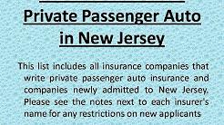 NJ auto insurance companies | Cheap Auto Insurance New Jersey
