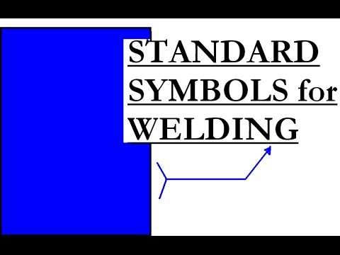 Welding Standard Location Of Elements Of Welding Symbols Youtube