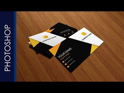 Tutorial Makeup Business Card Templates Using Photoshop (PART 2)