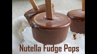 Creamy Nutella Fudge Pops -  The Frugal Chef