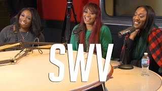 """SWV Explain how Charlie Wilson Passed on """"Weak"""" + How They Individually Started Singing"""