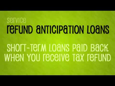 Tax Refund Anticipation Checks | Personal Finance 101